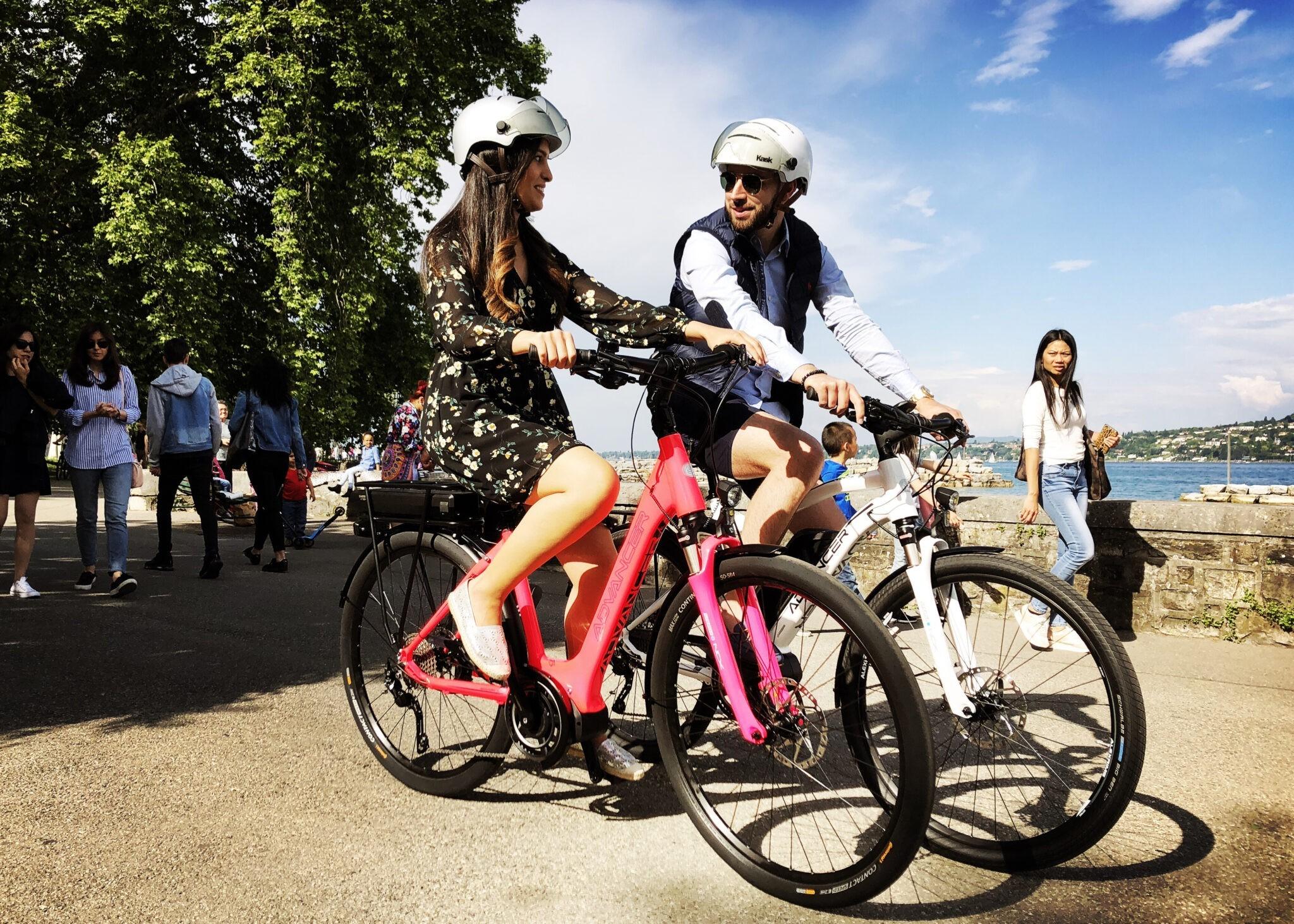Location vélos électriques à Genève